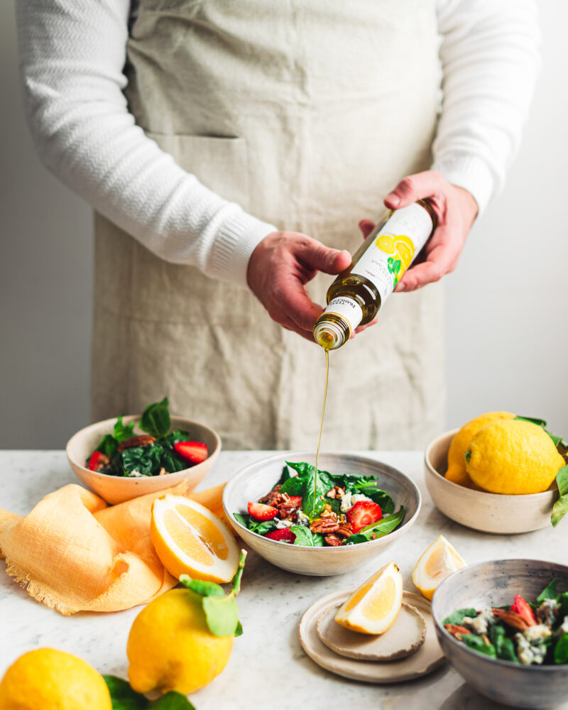 Terre Francescane – Olio aromatizzato al limone